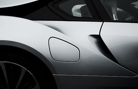 Close up of silver sports car Orchard Auto Mobile Car Valeting 2021 Edinburgh