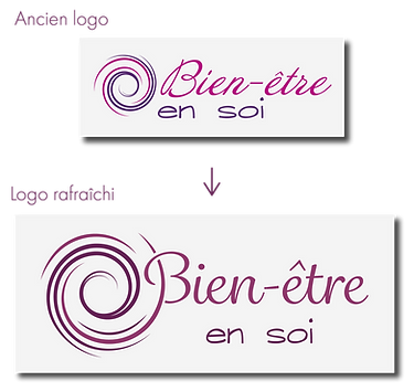 Rafraichissement de logo
