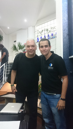 Marcelo Mariano e Bruno Guimarães