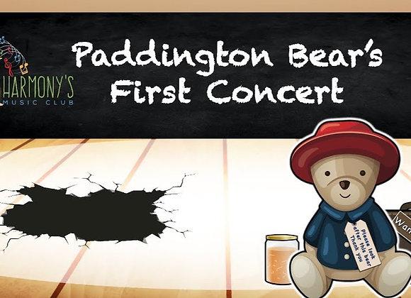 Paddington Bear's First Concert (28 June - 2 July 2021)