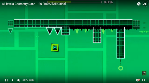 How long would it take to develop the skills to make games like Geometry Dash