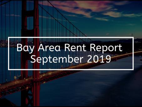 Bay Area Rent Report – September 2019