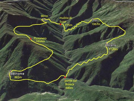 """Trekking, """"Giro del Postino"""" in Val Boreca"""