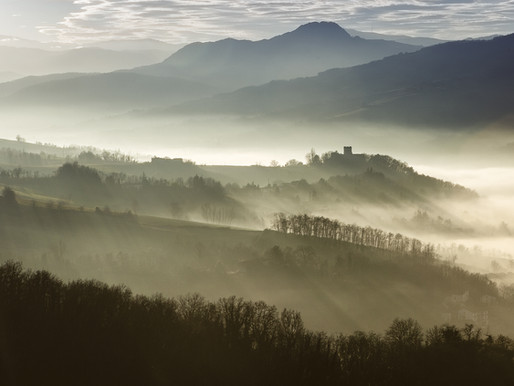Il Castello di Montechiaro in Val Trebbia