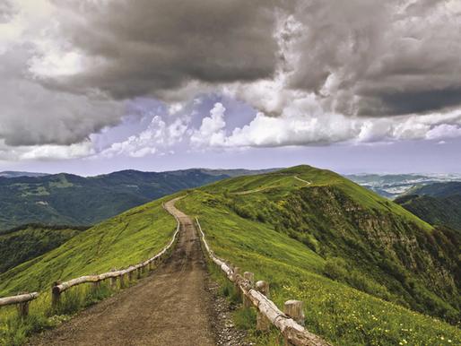 Il Monte Lesima in Val Trebbia