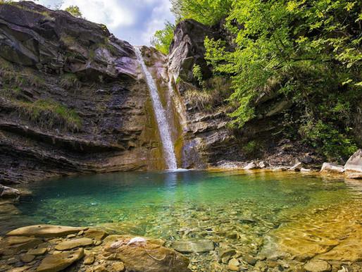 Le cascate del Carlone in Val Trebbia
