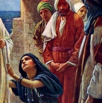 Jesus' Encounter with Woman in Tyre -1
