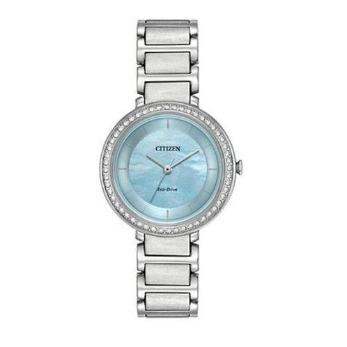 Eco Drive Dama Madre perla (azul) 60944