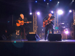 Russell performing with Ian Tyson