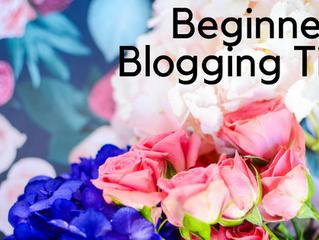 Beginner's Blogging Tips