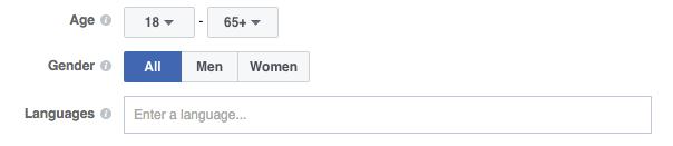 Facebook Ad Gender Targeting
