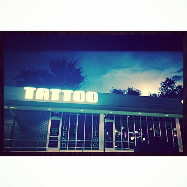 Legend Tattoo Austin