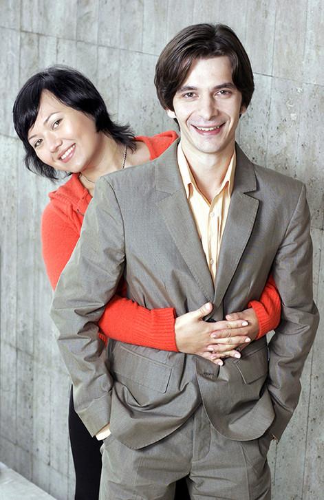 Андрей Курпатов с супругой
