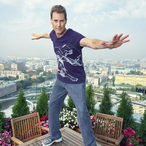 Ури Геллер в Москве