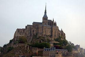 Vue de près Mont St Michel