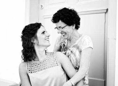Laura & Barbara - Mutter-Tochter-Shooting in Bensheim