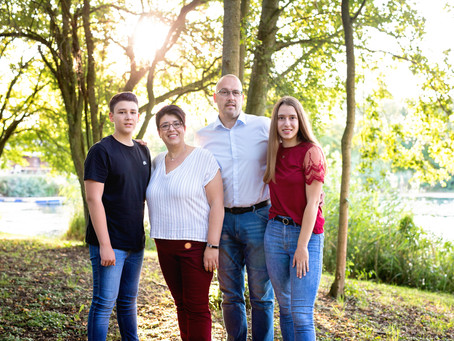 Familie Hammer - Familienshooting in Heppenheim