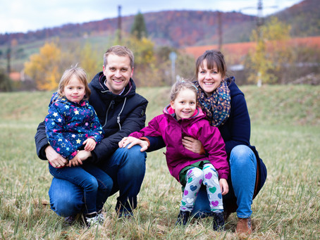 Familienshooting in Laudenbach