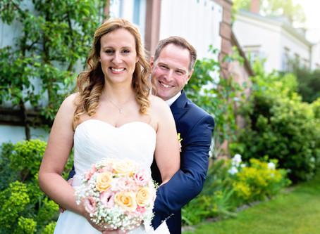 Christina & Robin  -  Hochzeit in Weinheim
