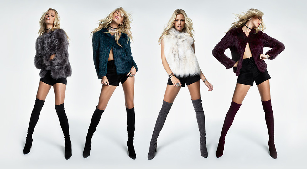 REVOLVE WOMEN Editorial Homepages