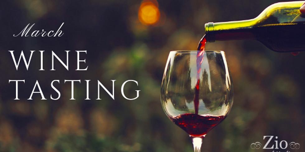 March Wine Tasting