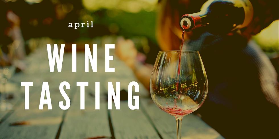 April Wine Tasting