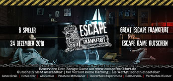 Gutschein The Great Escape Frankfurt