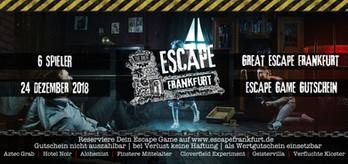 Gutschein The Great Escape Frankfurt