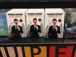 Wonho Chung DVD パッケージ撮影