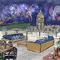 Day 12 - Edinburgh Grand Penthouse Terrace