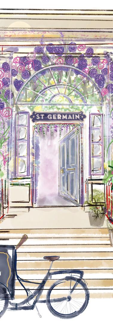 St Germain at Tigerlily, Edinburgh