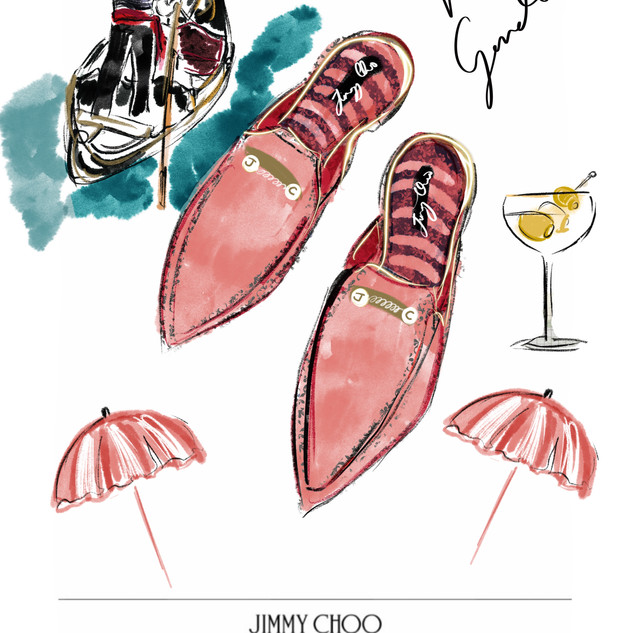 Jimmy Choo Sketch competition entry