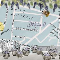 Arts district map