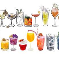 Edinburgh Cocktail Week - Varied Drinks