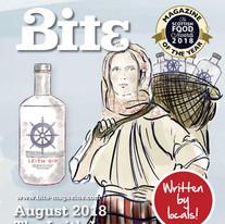Bite Magazine cover - August 2018