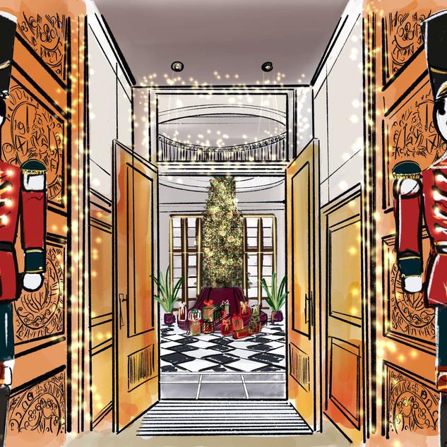 Edinburgh Grand christmas campaign