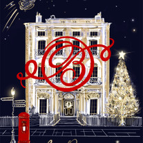 Oliver Burns digital christmas card