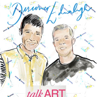 Talk Art - Rob Diament and Russell Tovey
