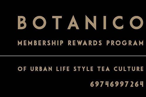 BOTANICO TEA´S MEMBERSHIP PROGRAM