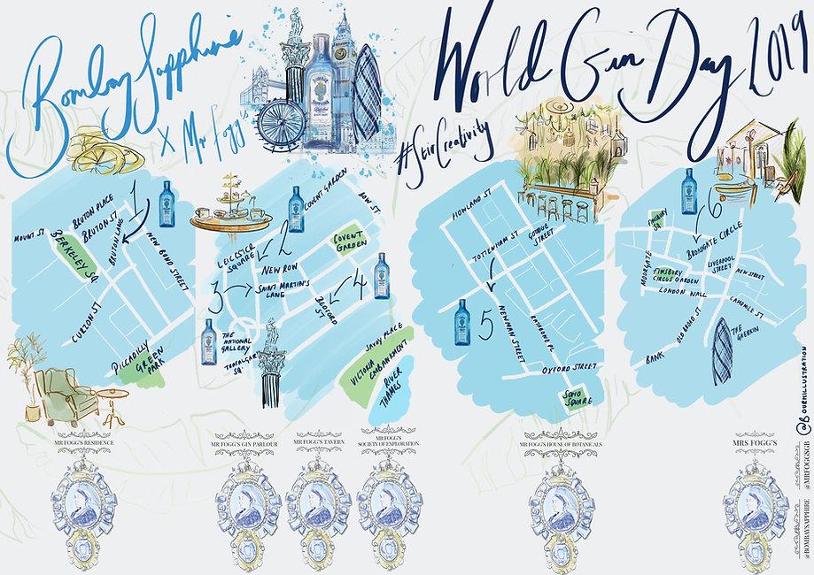 Bombay Sapphire X Mr Foggs - WGD 2019