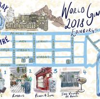 World Gin Day 2018 map