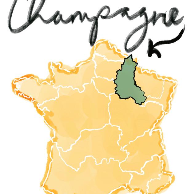 Champagne region, France