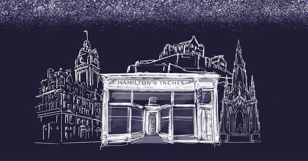 Hamilton & Inches christmas campaign