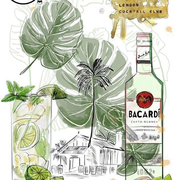 London Cocktail Club - Bacardi Rum Month
