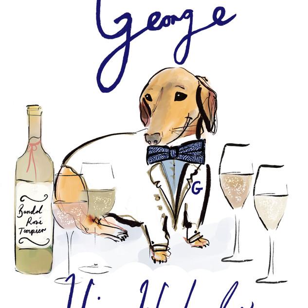 George - Wine Weekender menu
