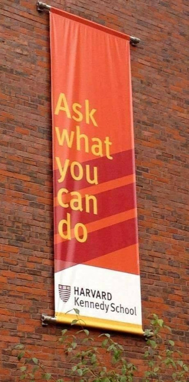 ASK WHAT YOU CAN DO
