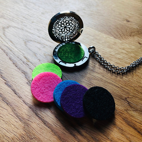 Mandala Aromatherapy Necklace