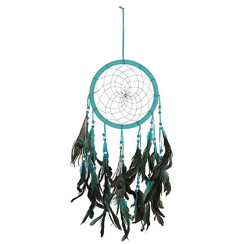 Large Peacock Dreamcatcher