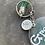 Thumbnail: Green Witch Keyring