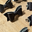 Thumbnail: Real leather hair clips